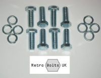 Ford Pinto Steel Engine Mounts Bolt Set